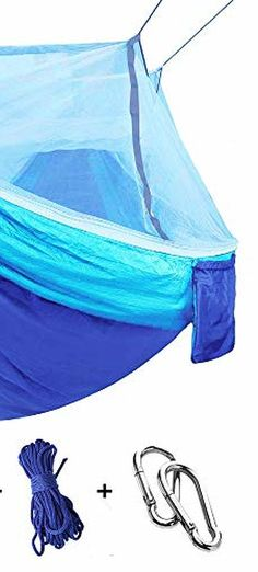 Dive to The Top 10 Things to Consider When Buying a Camping . - Small, single camping hammocks support a restricted weight capacity. Tree Camping, Camping Hammock, Hammocks, Camping Hacks, Beach Mat, Outdoor Blanket, Hiking, Fabric, Top