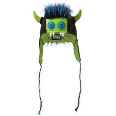 Beasty Buddies ZEPPELIN Fleece Monster Hat