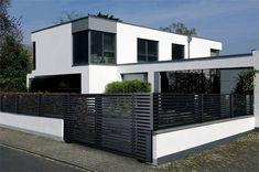 Die 183 Besten Bilder Von Moderner Zaun Modern Fence Landscaping