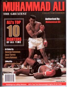 I'm not the greatest; I'm the double greatest. Not only do I knock 'em out, I pick the round. Luxor Hotel Las Vegas, Larry Holmes, Muhammad Ali Quotes, Leroy Neiman, Boxing History, Newspaper Cover, Joe Louis, Las Vegas Photos, Float Like A Butterfly
