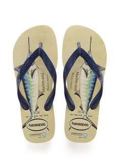 4dc107ddd90c8 Havaianas Conservation International Sandal Beige Navy Blue Price From   NZ 36.78 https  . Mens Flip FlopsSlippersNavy ...