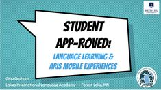 """Student APP-roved: Language Learning and ARIS Mobile Experiences"" (Presenter: Gina Graham) Learning Spanish For Kids, Spanish Activities, Interactive Activities, Learn Spanish, Bethel University, Craft App, Crafts With Glass Jars, Central States, Fun Arts And Crafts"