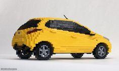 lego sculptures | Creative lego Sculptures - 50 Pics