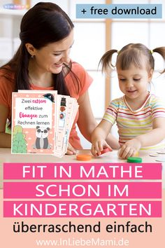 """Kinder, die gut in Mathe sind, haben ein fundiertes Zahlenverständnis. Sie können Zahlenworte, wie """"Sieben"""" oder """"Zehn"""" mit bestimmten Zahlenbildern im Kopf verknüpfen. Das können Kinder, die Probleme beim Rechnen haben, nicht. Families, Blog, Poster, Learning Numbers, Kids Learning, Decomposing Numbers, Mixed Emotions, Learning Methods, Activities For Toddlers"""