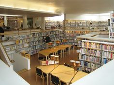 Image 21 of 21 from gallery of Architecture Guide: 20 Must-See Works by Alvar Aalto. © Wikipedia user: Zahlenmonster Licensed under CC BY-SA Alvar Aalto, Archdaily Mexico, Architecture, Gallery, Furniture, Home Decor, Libraries, Arctic, Finland