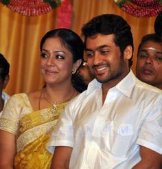 Jyothika and Surya