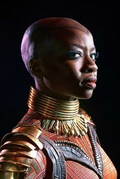 Danai Gurira as Okoye in Marvel's Black Panther ' Okoye is an extremely proud Wakandan. She's very proud of her people, her country, and her heritage. She is a traditionalist. She is rooted in what. Black Panther Marvel, Shuri Black Panther, Black Panther Character, Black Panther 2018, Black Panthers, Dc Movies, Marvel Movies, Wakanda Marvel, Dora Milaje