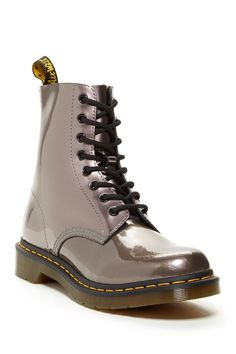 Pascal Patent Combat Boot by Dr. Martens on @nordstrom_rack