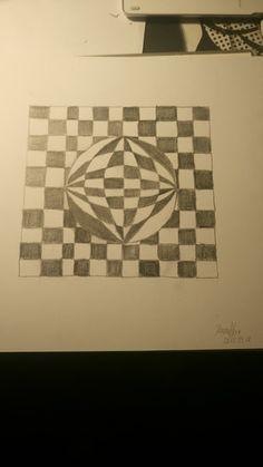 Optikai illúzió 4B grafit