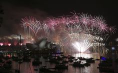 Sydney, Australia Welcome 2015! New Year's Eve celebrations from around the world