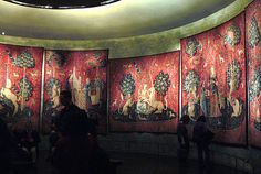 The Lady and the Unicorn Tapestries - - Unicorns Unicorn Tapestries, Tapestry, Paris 2015, Medieval World, Famous Artwork, I Love Paris, Ancient Rome, Musée National, Museum