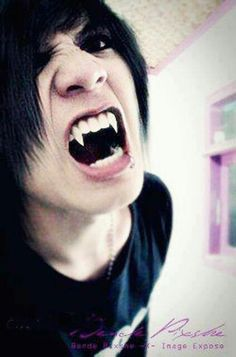 Kinda cool I'm just wondering if the teeth are real cause kissing him would hurt like hell js lol