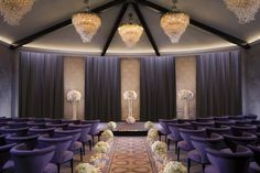 The wedding chapel at Aria Las Vegas is the perfect location for an intimate Las Vegas wedding ceremony. | Aria Las Vegas Wedding