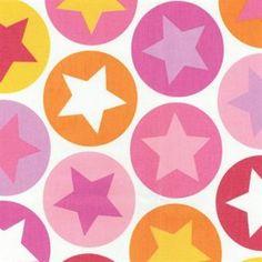 Tindra fabric - pink - Sandberg Tyg & Tapet