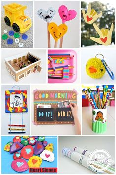 25 Back To School Crafts To Help You Make This School Year Fun! via @hollyhomer