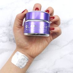 The Glam Glow GRAVITYMUD silver Mask is a Peel Off Mud treatment that instantly leaves skin feeling firmer and more lifted.  Available at Douglas