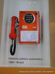 telefone público 1980 - Brasil