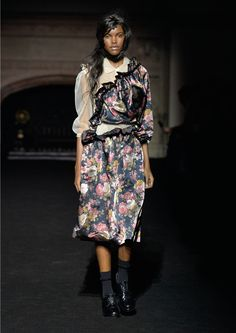 #LFW: SIMONE ROCHA IS HOME The UK's favourite young designer drew inspiration from her art school thesis for A/W15 http://www.couturesquemag.com/2015/02/lfw-simone-rocha-is-home.html