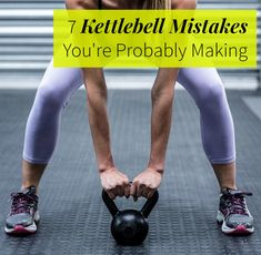 Your kettlebell workout is only effective if you aren't making these mistakes.