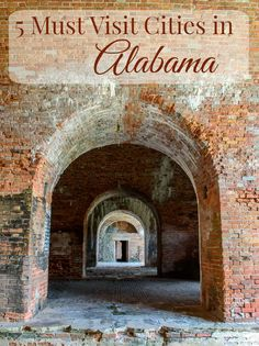 5 Must Visit Cities in Alabama