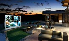 Outdoor Home Theater