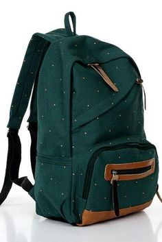 New fashion school canvas girl backpack