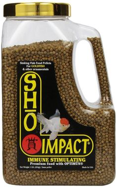 Now selling  Sho Impact for Go... . Check it out http://playitkoi.com/products/sho-koi-impact-sinking-goldfish-food?utm_campaign=social_autopilot&utm_source=pin&utm_medium=pin