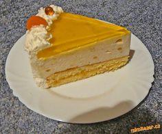 Meruňkový dort- smetanové želé.