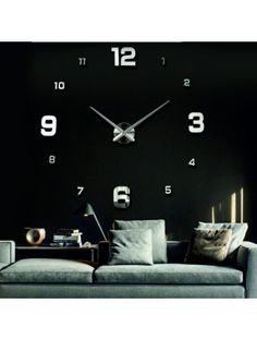 Mirror clock on the wall - WALPURGA Reference:  12S005-S-S-COLOR** Condition:  New product  Availability:  In Stock  Choose a color by yourself! The time has come much more cozy realít new clock. 3D large wall clock is a beautiful decoration of your interior. You'll never be late.