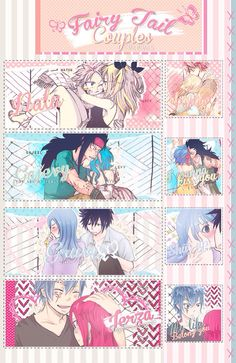 Fairy Tail couples!!!!!!!!!!!