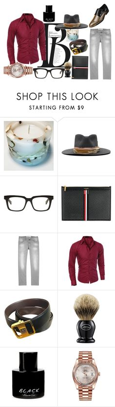 """""""Spring action"""" by momentromantique on Polyvore featuring Nick Fouquet, Belstaff, Thom Browne, Jacob Cohën, Amali, Christian Dior, The Art of Shaving, Kenneth Cole, Rolex i men's fashion"""