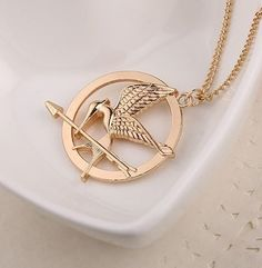 Hunger Games Mockingjay Necklace