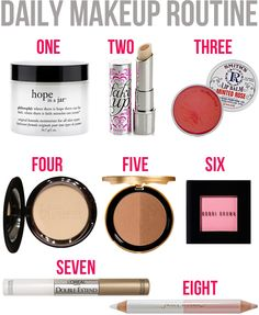 Southern Curls & Pearls: Daily Makeup Routine