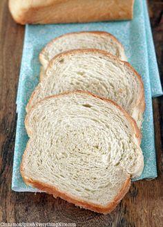Scandinavian White Bread (scalded flour method)