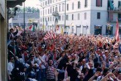 Cremonese-Padova 1990 corteo
