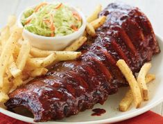 APPLEBEE'S BBQ'D BABY BACK RIBS