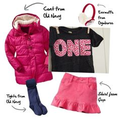 Girls outfit featuring Lil Threadz, Gymboree, Old Navy and Gap @Gap @Donna Maywald Navy @Gymboree