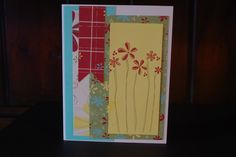 nothings says you care like a hand made card