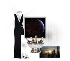 """""""Dinner on Coruscant"""" by synthetic-hearted-midgardian ❤ liked on Polyvore featuring Versus, Giuseppe Zanotti, Lele Sadoughi, Chan Luu, women's clothing, women, female, woman, misses and juniors"""