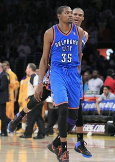 kevin kd durant russell westbrook okc thunder