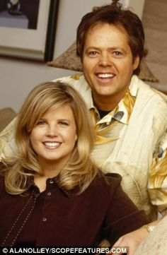 Child star: Jimmy Osmond, 51, with wife Michelle, did not let fame change his Mormon morals