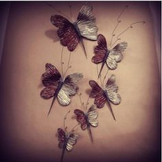 Πεταλούδες Από Πηλό