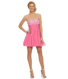 B. Darlin Sweetheart Beaded Party Dress   Dillard's Mobile