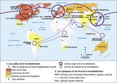 Pôles et flux de la mondialisation | Annabac