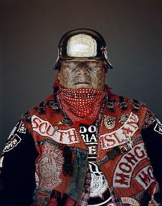 Jono Rotman photographs Mighty Mongrel Mob member Aotearoa