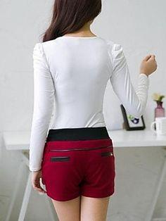 Red & Black Shorts
