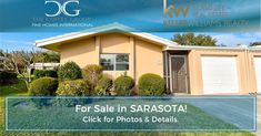 Listings To Leads - A full real estate marketing and lead generations system Sarasota Real Estate, Virtual Tour, Real Estate Marketing, Open House, Washer, Dryer, Landscaping, Florida, Layout