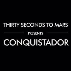Thirty Seconds To Mars - Conquistador (Lyric Video) (+lista de reproducc. Music Love, Listening To Music, Music Is Life, Good Music, My Music, Best Songs, Love Songs, Thirty Seconds, 30 Seconds