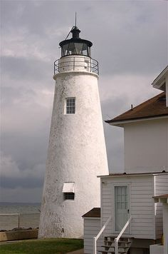 Cove Point Lighthouse - Located on Cove Point, just South of Calvert Cliffs State Park, Maryland