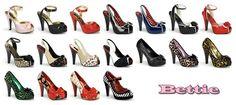 Zapatos Pin Up USA